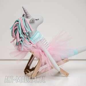 jednorożec dla dziecka turkusowe duży unicorn