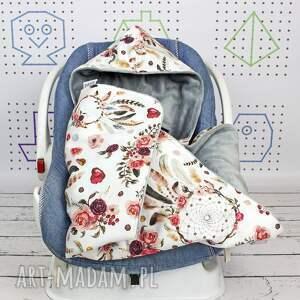 NuvaArt dla dziecka dreamcatcher duży kocyk do fotelika