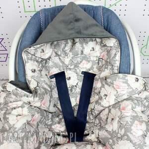 kocyk dla dziecka różowe duży do fotelika