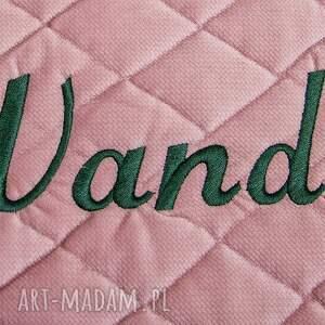 hand made dla dziecka poduszka foka rebeka velvet mint
