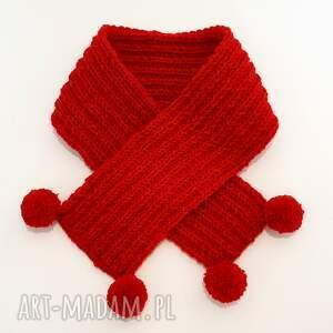 dla dziecka szalik handmade dziecięcy komplet wełniany