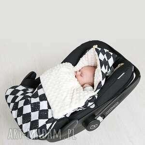 dla dziecka śpiworek minky s - czarna