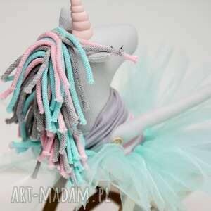 różowe dla dziecka jednorożec unicorn duży