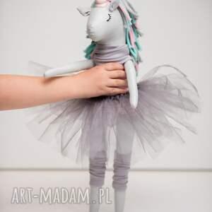 szare dla dziecka prezent jednorożec unicorn duży