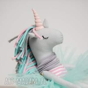unicorn dla dziecka turkusowe jednorożec duży
