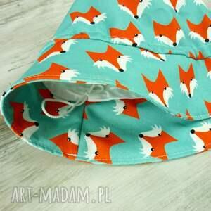 pomarańczowe dla dziecka kapelusz dziecka, liski