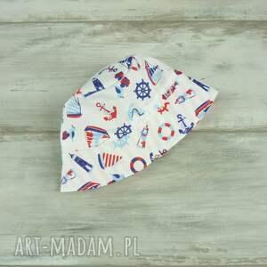 hand-made dla dziecka kapelusz dziecka, motyw morski