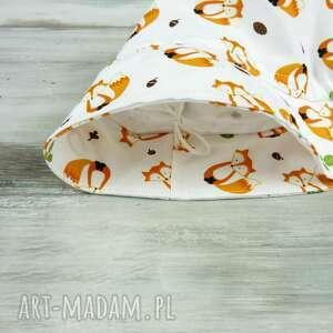 ręczne wykonanie dla dziecka kapelusz dziecka, rude liski