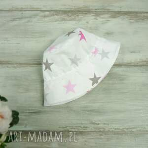niesztampowe dla dziecka bawełna kapelusz dziecka, gwiazdki