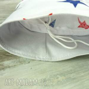 niebieskie dla dziecka bawełna kapelusz dziecka, gwiazdki
