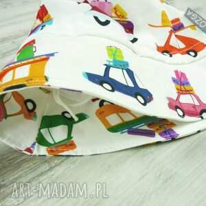 białe dla dziecka kapelusz dziecka, samochody