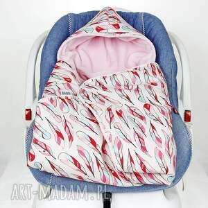 fotelik dla dziecka kocyk do nosidła samochodowego