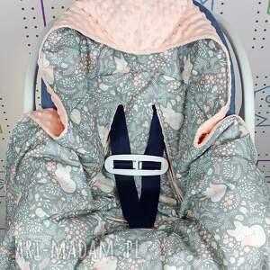 nosidło dla dziecka kocyk do nosidła samochodowego