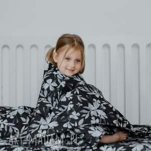 kolorowe dla dziecka kocyk kołderka 100x135 bawełna blue