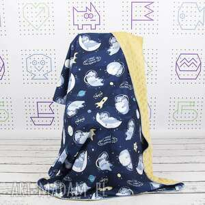 leniwce dla dziecka kocyk 75x100
