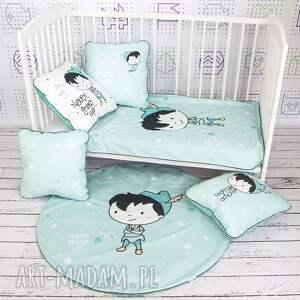 łóżeczko dla dziecka kocyk 75x100 piotruś pan