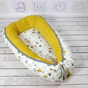 dla dziecka noworodka kokon gniazdo dla niemowlaka brum