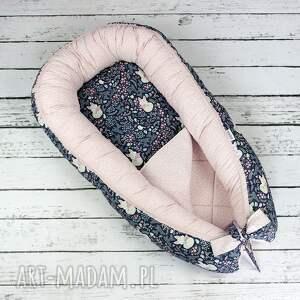 urokliwe dla dziecka kokon gniazdo niemowlaka - lisy