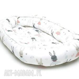 dla dziecka kokon niemowlęcy gniazdko otulacz