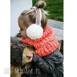 różowe dla dziecka komin dla dzieci mode