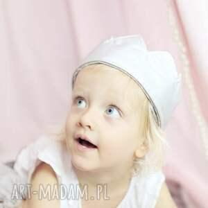 handmade dla dziecka bawełna korona mały jubilat