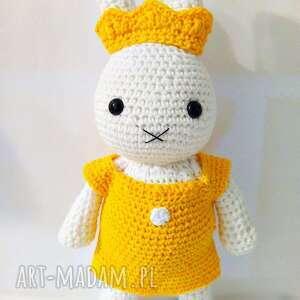 żółte dla dziecka króliczek a la miffy - królewna