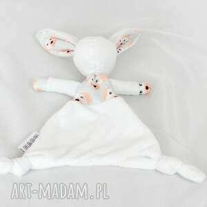 ręcznie wykonane dla dziecka przytulanka luluś królik -