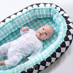 dla dziecka kojec makaszka - kokon niemowlęcy