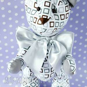 handmade dla dziecka maskotka miś przytulanka