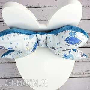 niebieskie dla dziecka antywstrząsowa motylek - poduszka