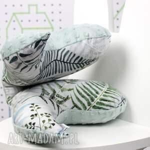 poduszka dla dziecka szare motylek - antywstrząsowa