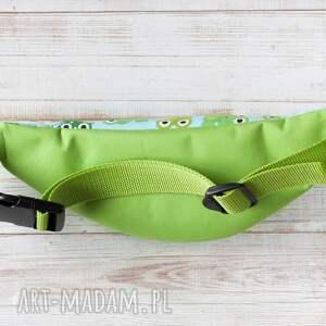 zielone dla dziecka saszetka nerka dla kids - żabki