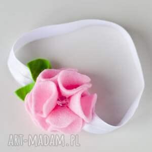 gustowne dla dziecka opaska niemowlęca - różowe