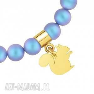 nietypowe dla dziecka modna perłowa bransoletka z pereł