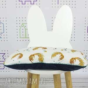 białe dla dziecka płaska poduszka do łóżeczka firefox