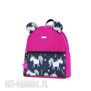 różowe plecak plecaczek farbiś 2268 r