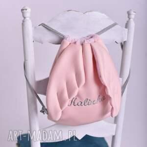 Plecak worek ze skrzydłami z imieniem - dla dziecka