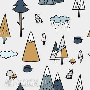 dla dziecka worek plecak przedszkolaka las