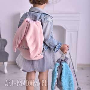 Plecak worek ze skrzydłami z imieniem - dla dziecka plecako