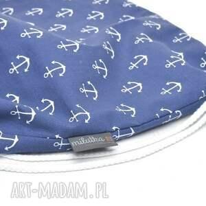 dla dziecka plecak worek przedszkolaka kotwice