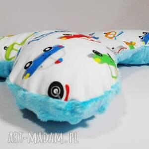 hand-made dla dziecka poduszka motylek, podróżna do wózka