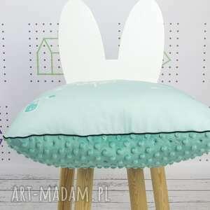 białe dla dziecka dekoracyjna poduszka never grow up 46x46