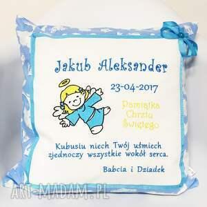 urokliwe dla dziecka prezent chrzest poduszka spersonalizowana