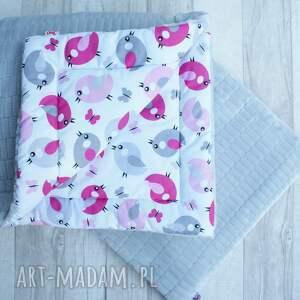 dla dziecka kołderka mięciutki komplet minky floppy