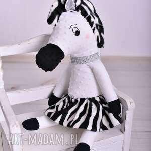 atrakcyjne dla dziecka poduszka zebra przytulanka dziecięca