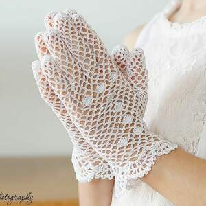 unikalne dla dziecka rękawiczki komunijne
