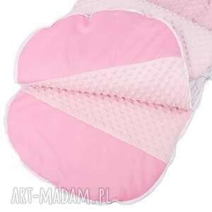 różowe dla dziecka śpiworek łapacze