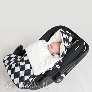 dla dziecka śpiworek minky s - delikatne piórka