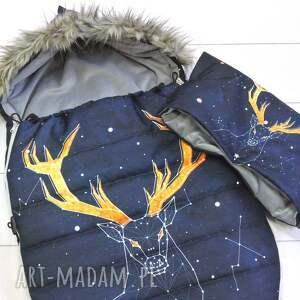 dla dziecka spiworek śpiworek zimowy deer