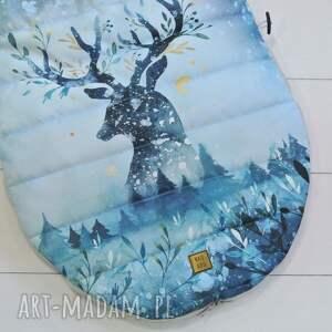 oryginalne dla dziecka śpiworek zimowy jeleń